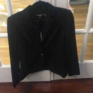 Karl Lagerfeld Black Suit Jacket, Size 6